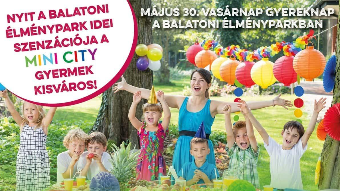 Gyermeknap a Balatoni Élményparkban Csopak